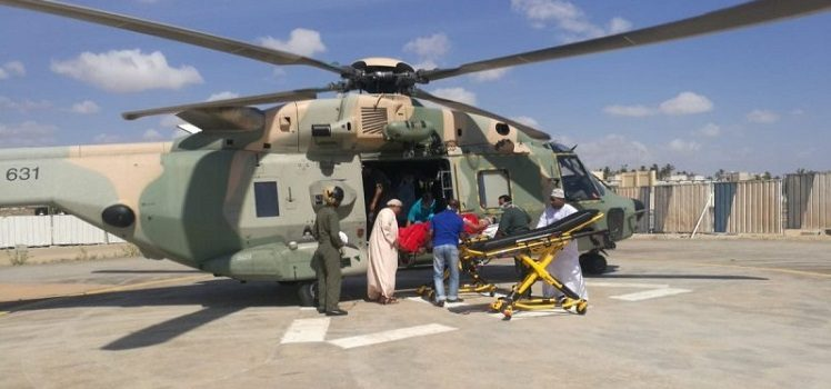 Traffic Accident Victims Airlifted to Salalah