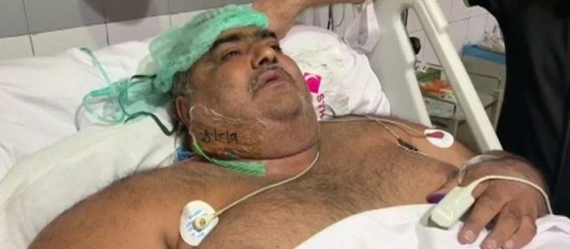 وفاة أسمن رجل في باكستان